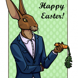 Greeting Card: Happy Easter 2019